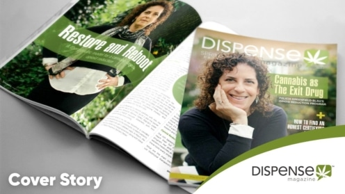 Dispense Magazine - Cover Article - Restore and Reboot with Felicia Greenfield-Blau